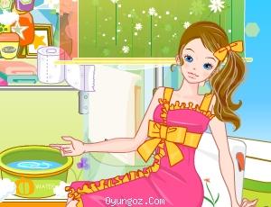 Barbie Banyosunu Düzenle