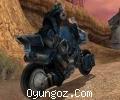 Hurdalıkta Motorcu