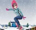 Kış Olimpiyatları Kayakçı Kız
