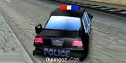 3D Polis Arabası Yarışı